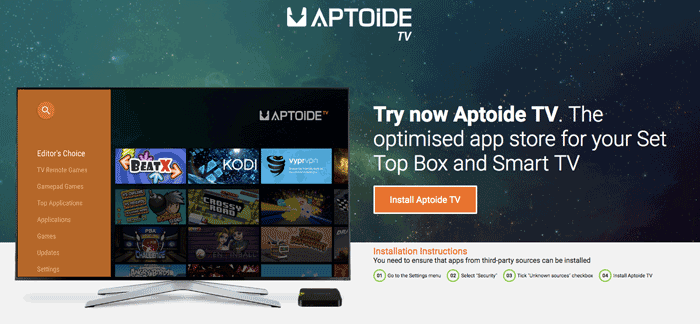 How to Install Aptoide TV – Aptoide