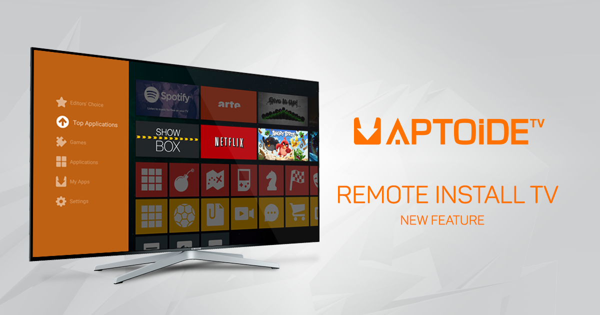 Install Apps On Your Android TV From Your Smartphone With AptoideTV