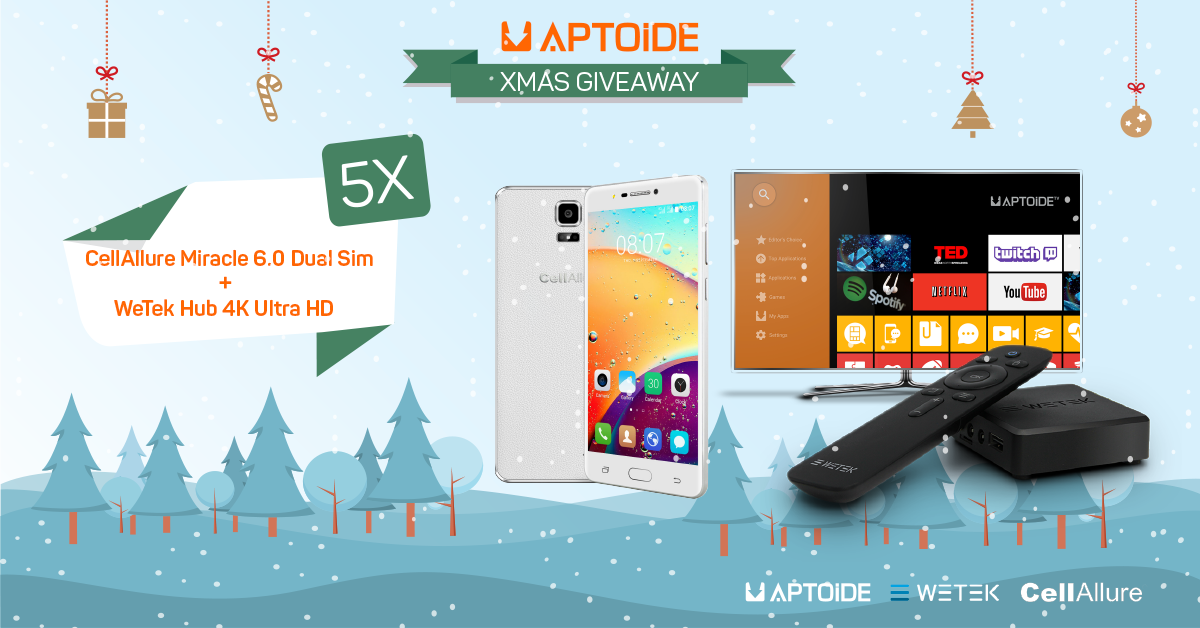 All You'll Want For Xmas is This Aptoide Giveaway
