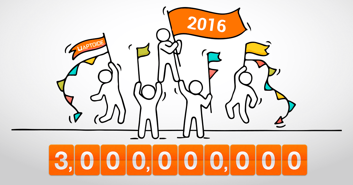 Aptoide Numbers Reached New Heights in 2016!