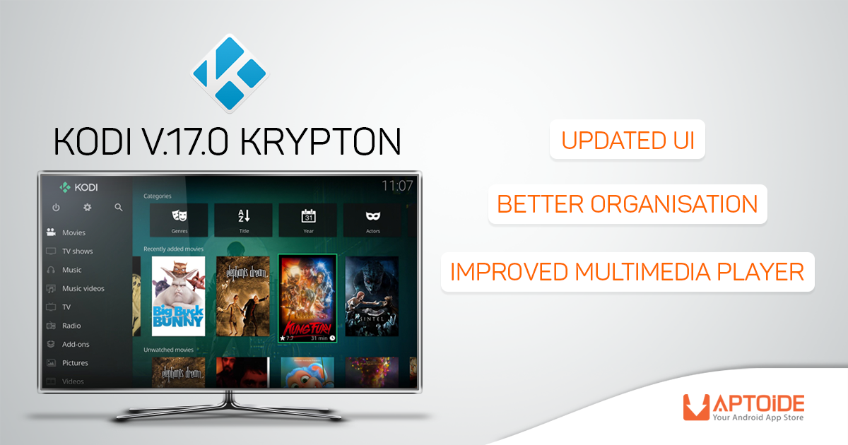 Here's Everything You Need To Know About The New Kodi 17.0 Krypton Release