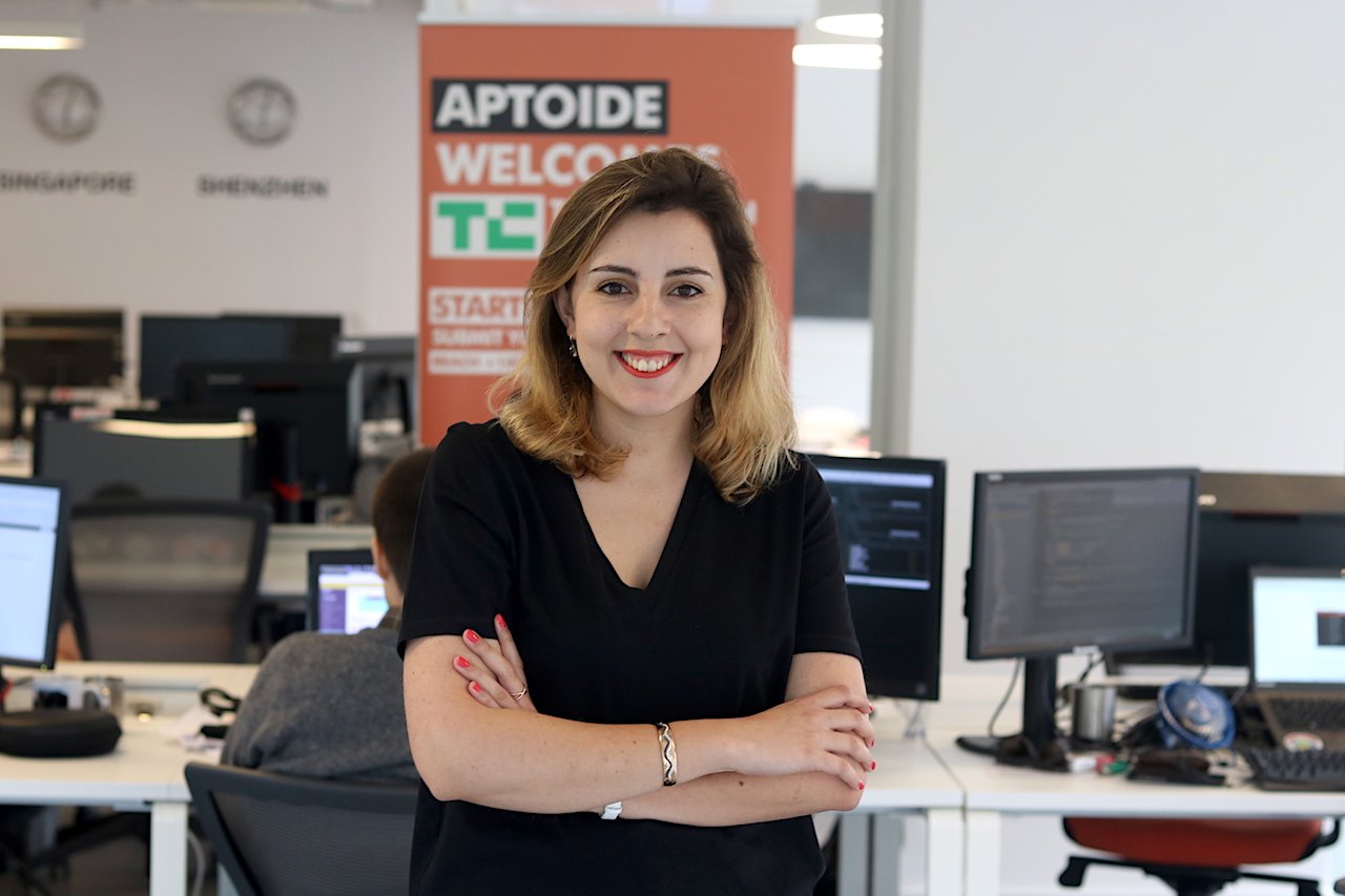 Meet The Aptoiders: Inês Carvalho, Web Developer