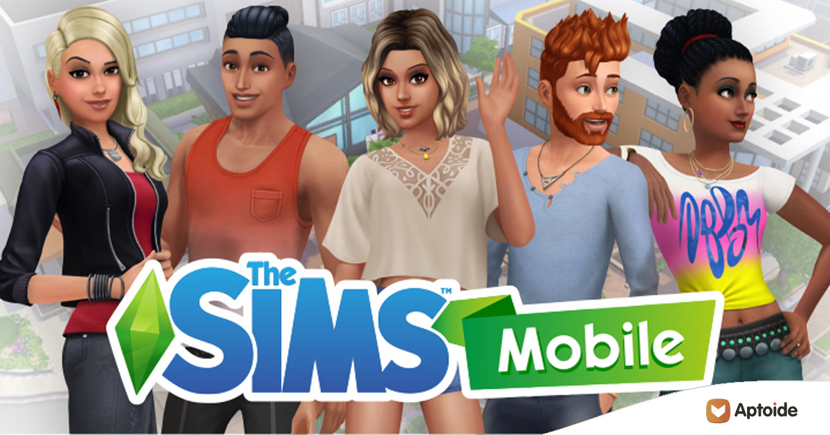 The New Sims Mobile For Android Is Now Available On Aptoide