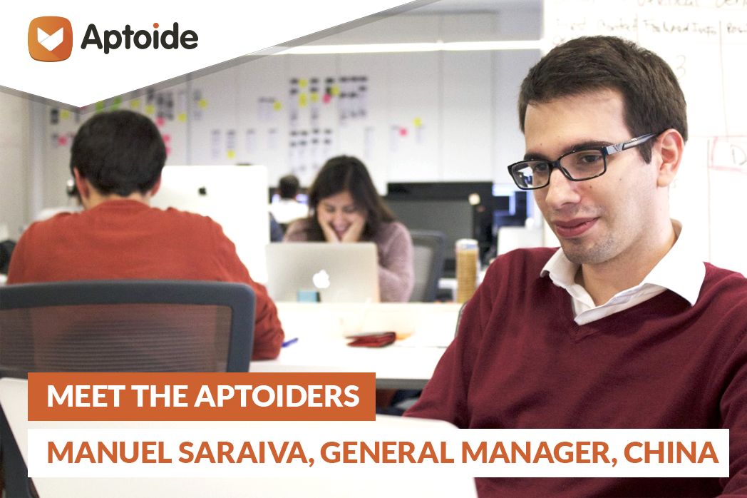Meet The Aptoiders: Manuel Saraiva, General Manager China at Aptoide