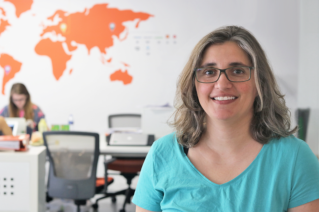 Meet The Aptoiders: Cristina Nunes, Senior Web Developer