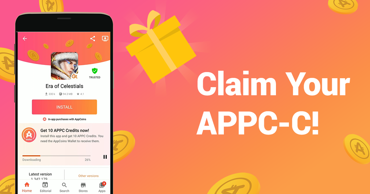 Claim your APPC Credits!